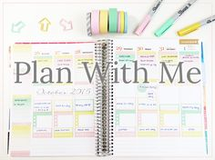 Plan With Me: October 2015 by Label Me Merrit