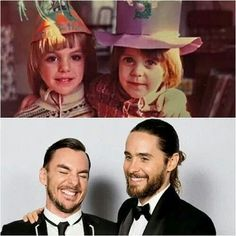 Jared and Shannon Leto. I'd like to shake their mama's hand. Job well done, ma'am.