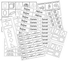 Great Geometry resource for introducing and centers