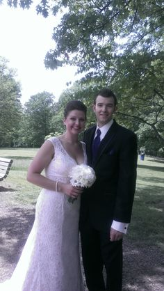 Brandon and Kayce were married at Bee Tree Park on may 17, 2014
