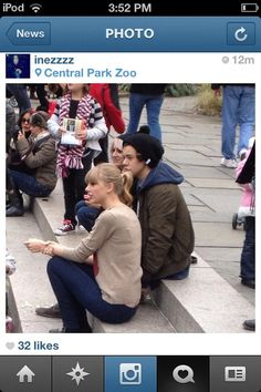 WHAT IS THIS MY WHOLE LIFE HAS BEEN A LIE. HARRY AND TAYLOR IN NYC TODAY WHATTT