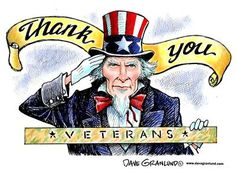 Happy Veterans Day Thank You | Granlund cartoon: Veterans Day thank you - Waltham, Massachusetts ...