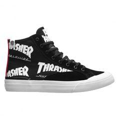 HUF X THRASHER Classic Hi black chaussures édition limitée Tour de Stoops 90,00 € #skate #skateboard #skateboarding #streetshop #skateshop @playskateshop