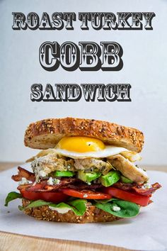 Roast Turkey Cobb Sandwich by @Kevin Mann Mann (Closet Cooking)