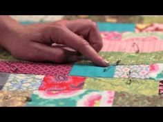 Quilty: Tying a Quilt. Quilting How-to :)