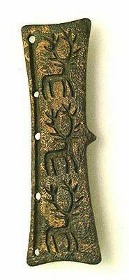 // Bronze Buckle from Koban with deer on it - ირმის გამოსახულებიანი ბრინჯაოს აბზინდი ყობანიდან — Patricia Blairy ile birlikte.