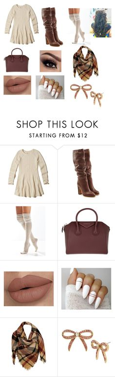 """Thanksgiving Outfit"" by fshioncrazy ❤ liked on Polyvore featuring Hollister Co., See by Chloé, Urban Outfitters, Givenchy, Sylvia Alexander and Betsey Johnson"