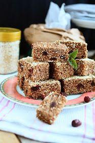 Angie's Recipes: No Bake Amaranth Bars (Vegan, Gluten-free)