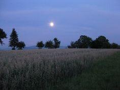 Mond über den Härten
