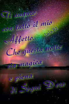 Buonanotte magica e sogni d'oro