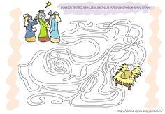 Wijzen uit het oosten /  Božićni radni listovi Rois Mages, Christmas Bible, Advent, Nativity, Coloring Pages, Christian, Children, Christmas Design, Crowns