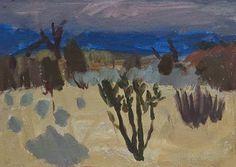 Annabel Gault Sage Brush and Cactus oil on paper x cm Abstract Landscape Painting, Landscape Art, Landscape Paintings, Watercolor Paintings, Abstract Art, Contemporary Landscape, Contemporary Paintings, Art Inspo, Fine Art