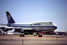 Sabena Belgian World Airways Boeing 747-300
