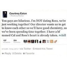 are ross and laura dating 2016