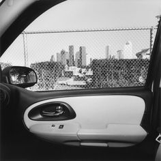 Lee Friedlander, Houston, Texas, 2006 (America by Car) A Level Photography, Street Photography, Monochrome Photography, Black And White Photography, Garry Winogrand, Lee Friedlander, William Klein, Weegee, Elliott Erwitt