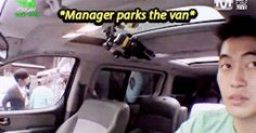 When the manager tries to park the van... #lilshits #infinite