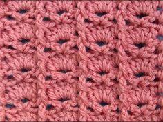 ▶ Узор вязания крючком 9 Crochet pattern - YouTube