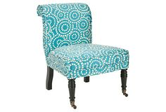 dining room chairs   BLUES & GREENS  Montgomery Side Chair