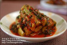 cucumber kimchi (오이 김치)