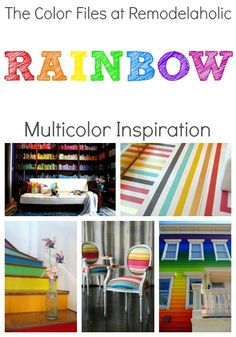 Best Colors For Your Home: RAINBOW Edition!