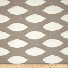 For dining room bench Premier Prints Slub Chaz Ecru from @fabricdotcom  Screen printed on cotton slub duck (slub cloth has a linen appearance); this versatile medium weight fabric is perfect for window treatments (draperies, valances, curtains and swags), accent pillows, upholstering furniture, headboards, ottomans and poufs. Colors include white and taupe.