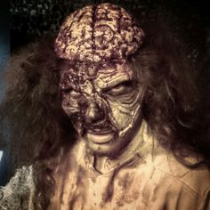 doctor pox for Dystopia Haunted House in Vejle. you do not want to end up on his table.