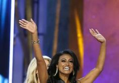 Nina Davuluri became the second consecutive contestant from New York to win the Miss America pageant. Davuluri won the title as the nationally televised pageant returned home to Atlantic City.