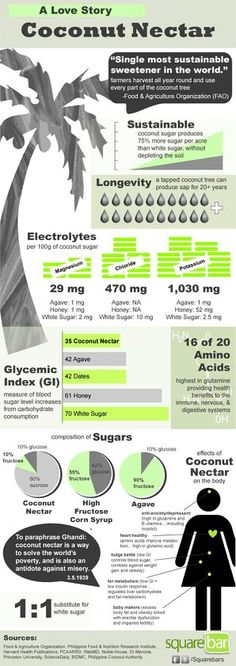 Coconut Nectar| infographic