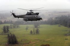 Final Flight of RAF Puma HC1 Helicopters by Defence Images, via Flickr