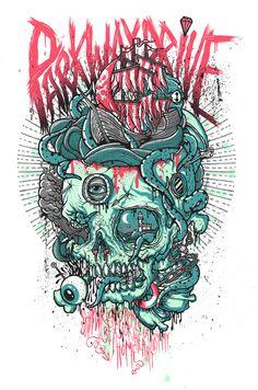 Drew Millward hand drawn illustrations | Tshirt-Factory Blog