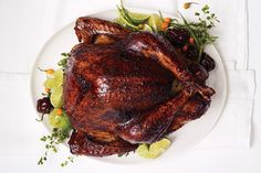 Find the recipe for Chile-Rubbed Turkey and other pepper recipes at Epicurious.com