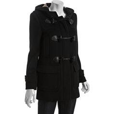 Rachel Bilson wearing Burberry Toggle Coat.