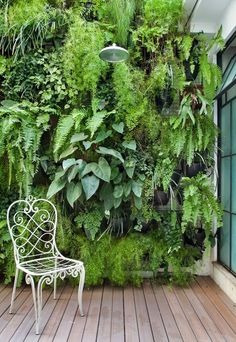 Check out some of our favorite wall garden ideas. https://uk.pinterest.com/furniturerattan/rattan-benches/