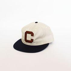 """10688c8cee3 Ebbets Field Flannels For Cloak   Dapper """"C"""" Ball Cap – Navy   Natural"""