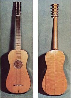 5-course guitar by Antonio Stradivarius, 1680