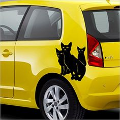 Chat, Chats ,ca.30 cm Mod.Nr. 1 autocollant Vinyle Décalque sticker pegatina ,voiture,Stickers, auto car tuning racing – MADE IN GERMANY –