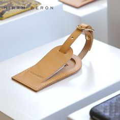 Buy online US $25.51  Hiram Beron Leather Luggage Tags Travel Accessories Suitcase Tag Business Bag Tags Custom Vegetable Tanned Leather Travel Tag  #Hiram #Beron #Leather #Luggage #Tags #Travel #Accessories #Suitcase #Business #Custom #Vegetable #Tanned