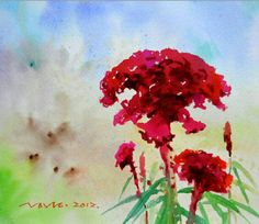 Jung In Sung, Watercolor, Painting, Art, Pen And Wash, Art Background, Watercolor Painting, Watercolour, Painting Art