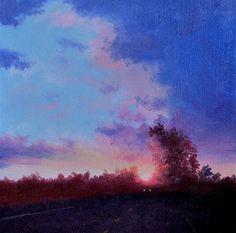 """Daily+Paintworks+-+""""HIGHWAY+66""""+-+Original+Fine+Art+for+Sale+-+©+Gerald+Schwartz"""