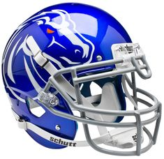 Boise State Broncos Authentic Blue Schutt XP Full Size Helmet