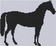 Horse 14 Cross Stitch Pattern pattern on Craftsy.com