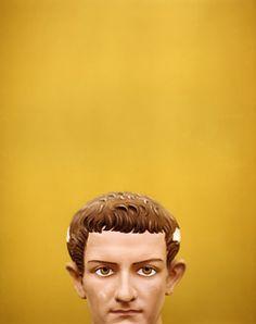 Tim Hailand, Painted Head, Copenhagen, 2006