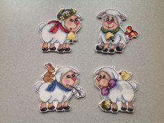 cross'n'stitch lambs