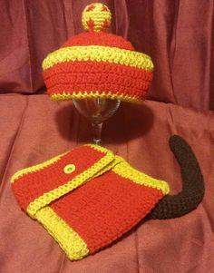 Crochet Dragon ball z  gohan costume by LLLCrochets on Etsy