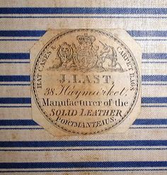 J Last     London    Christopher Clarke Antiques Archive