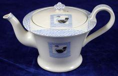 Suzanne Lalique Art deco teapot