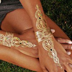 gold tattoos 5