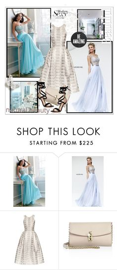 """""""homecomingqueendress"""" by stranjakivana ❤ liked on Polyvore featuring Sherri Hill, Mary Katrantzou, Dolce&Gabbana, Gianvito Rossi, polyvoreeditorial and homecomingqueendress"""