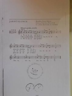 Jarní Piano, Sheet Music, Math Equations, Education, Pianos, Onderwijs, Learning, Music Sheets