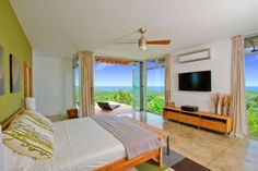 Luxury Villa Luna in Costa Rica with a great mountain view and sea view